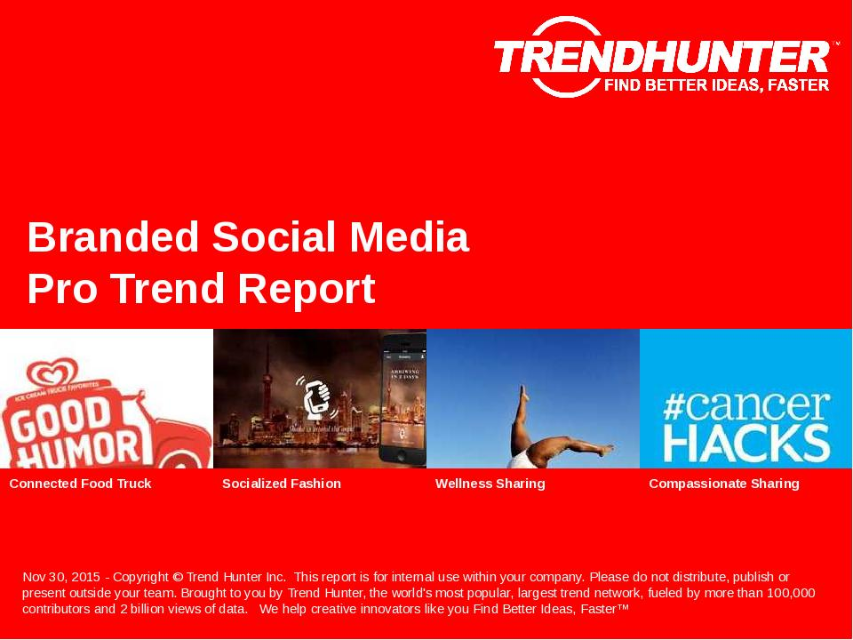 Branded Social Media Trend Report Research