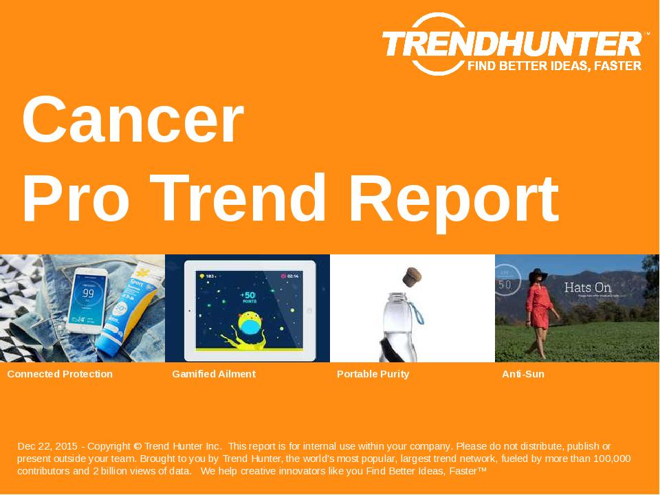 Cancer Trend Report Research