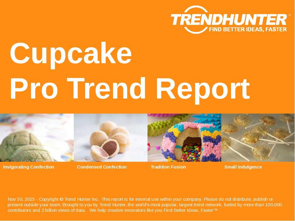 Cupcake Trend Report Research