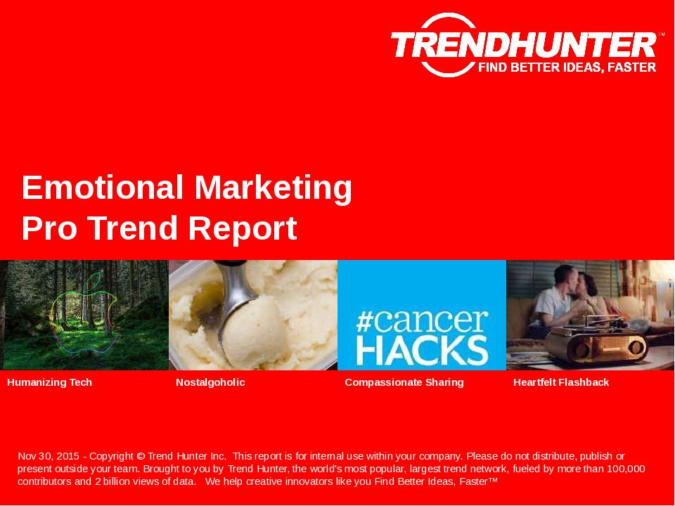 Emotional Marketing Trend Report Research