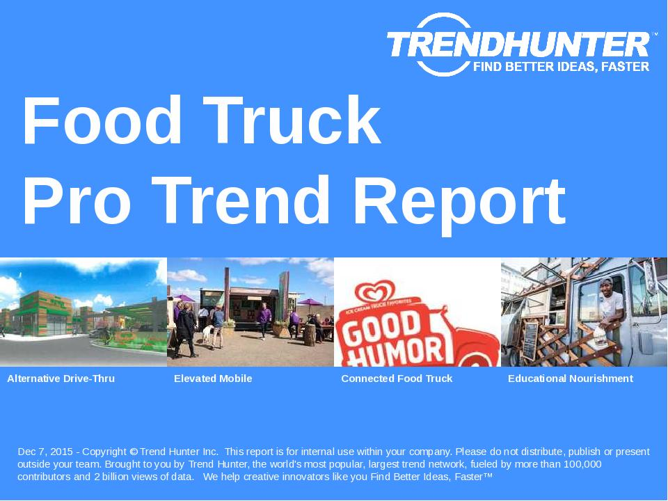 Food Truck Trend Report Research