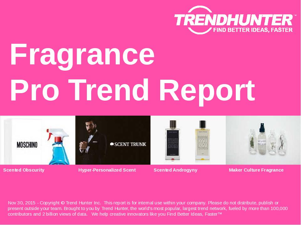 Fragrance Trend Report Research