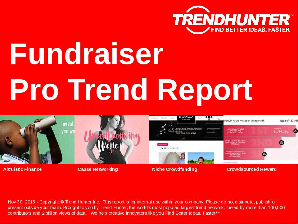 Fundraiser Trend Report Research