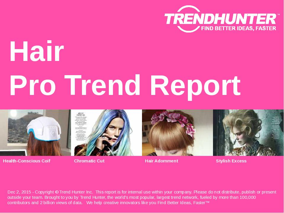 Hair Trend Report Research