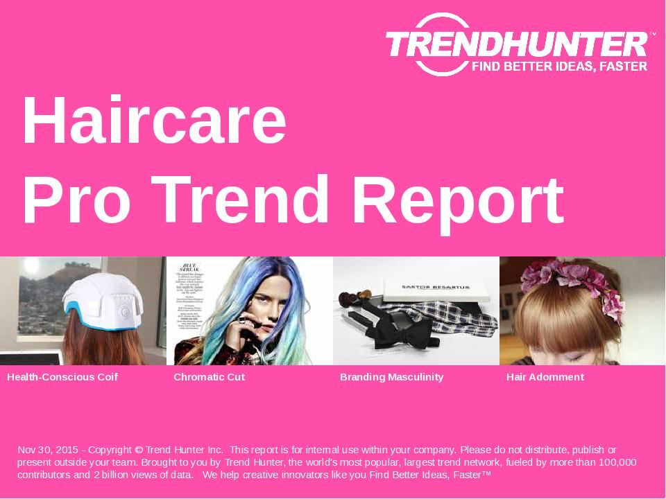 Haircare Trend Report Research