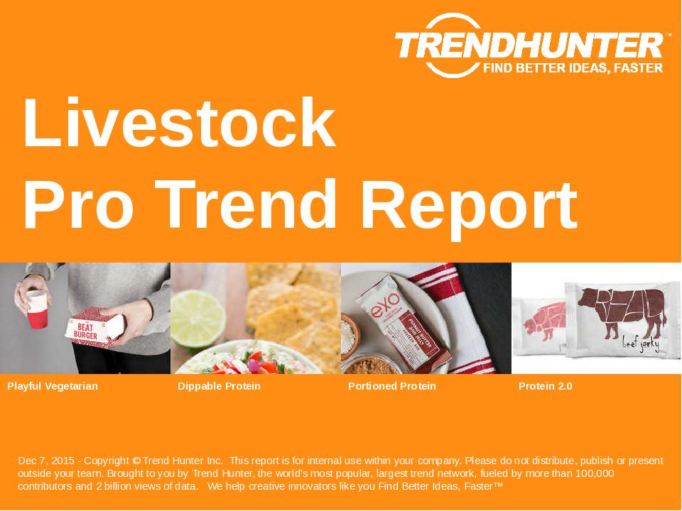 Livestock Trend Report Research