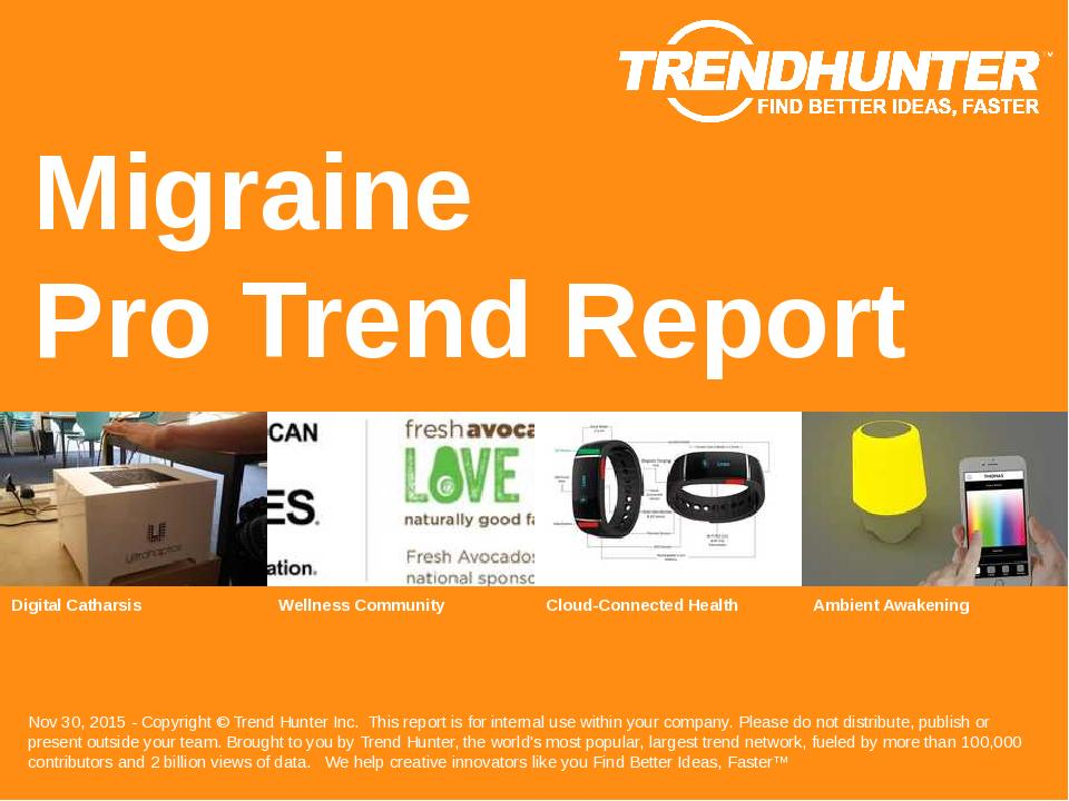 Migraine Trend Report Research