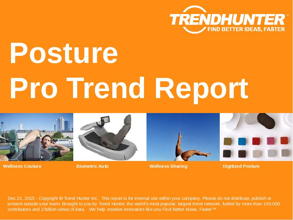 Posture Trend Report Research