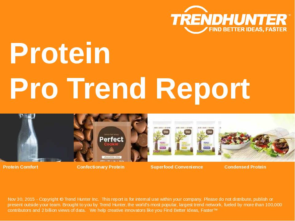 Protein Trend Report Research