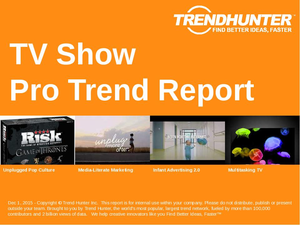 TV Show Trend Report Research