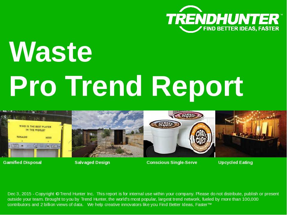 Waste Trend Report Research