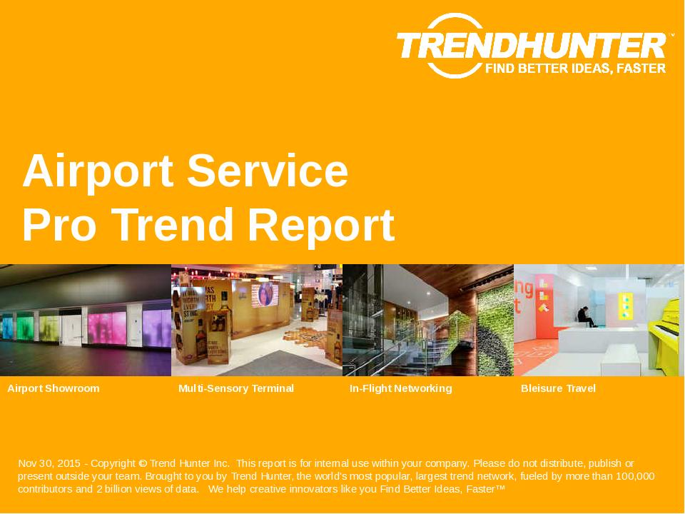 Airport Service Trend Report Research