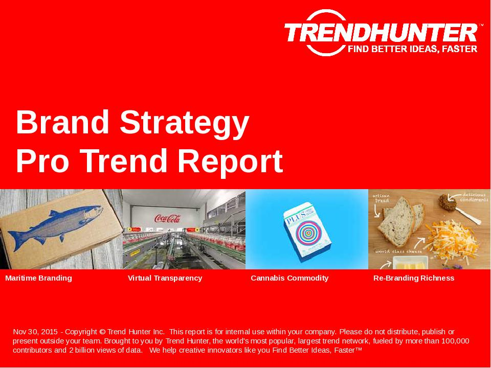 Brand Strategy Trend Report Research