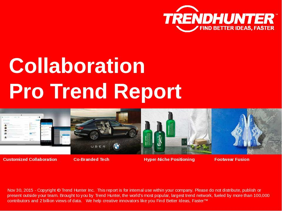 Collaboration Trend Report Research