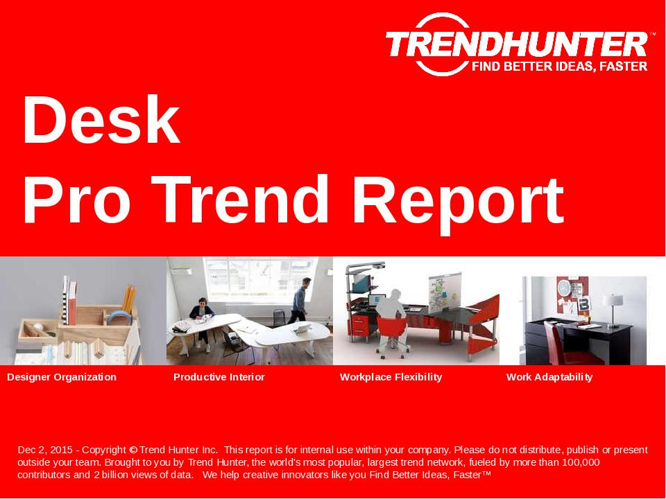Desk Trend Report Research