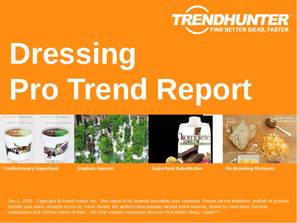 Dressing Trend Report Research
