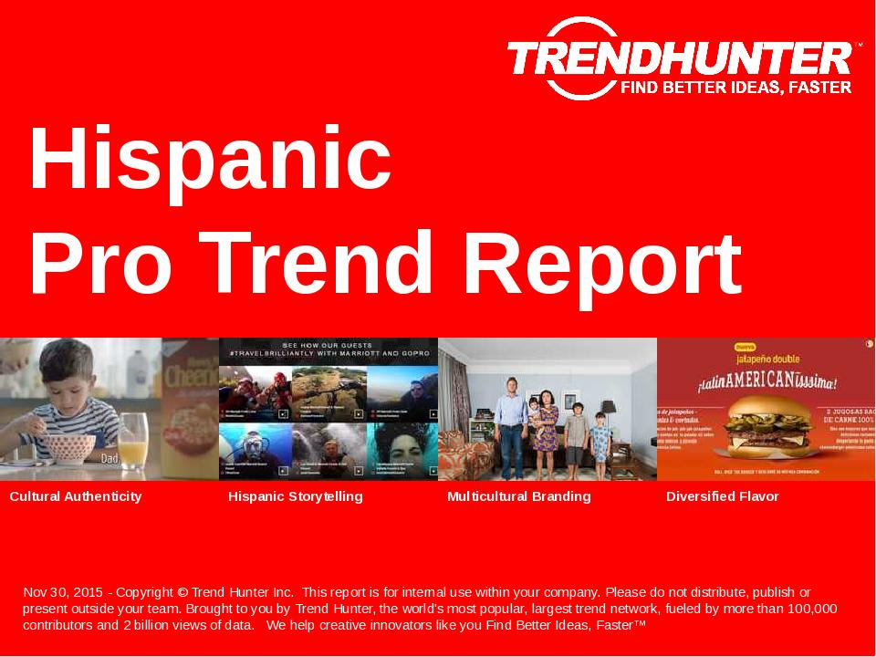 Hispanic Trend Report Research