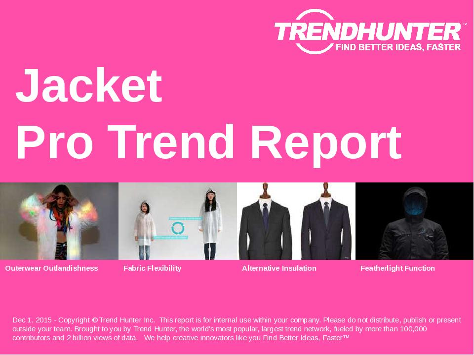 Jacket Trend Report Research