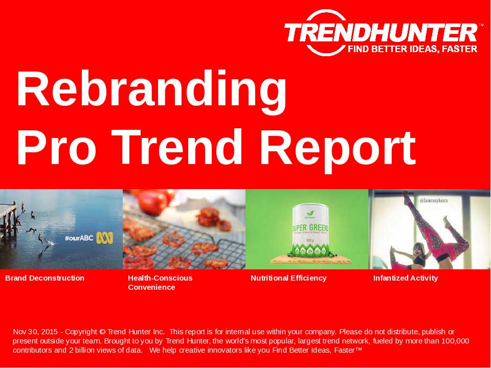 Rebranding Trend Report Research