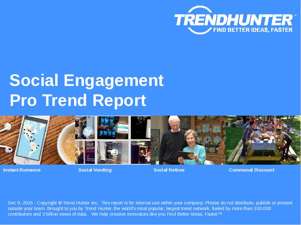 Social Engagement Trend Report Research