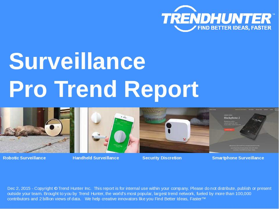 Surveillance Trend Report Research