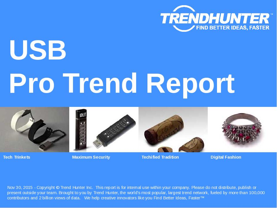 USB Trend Report Research