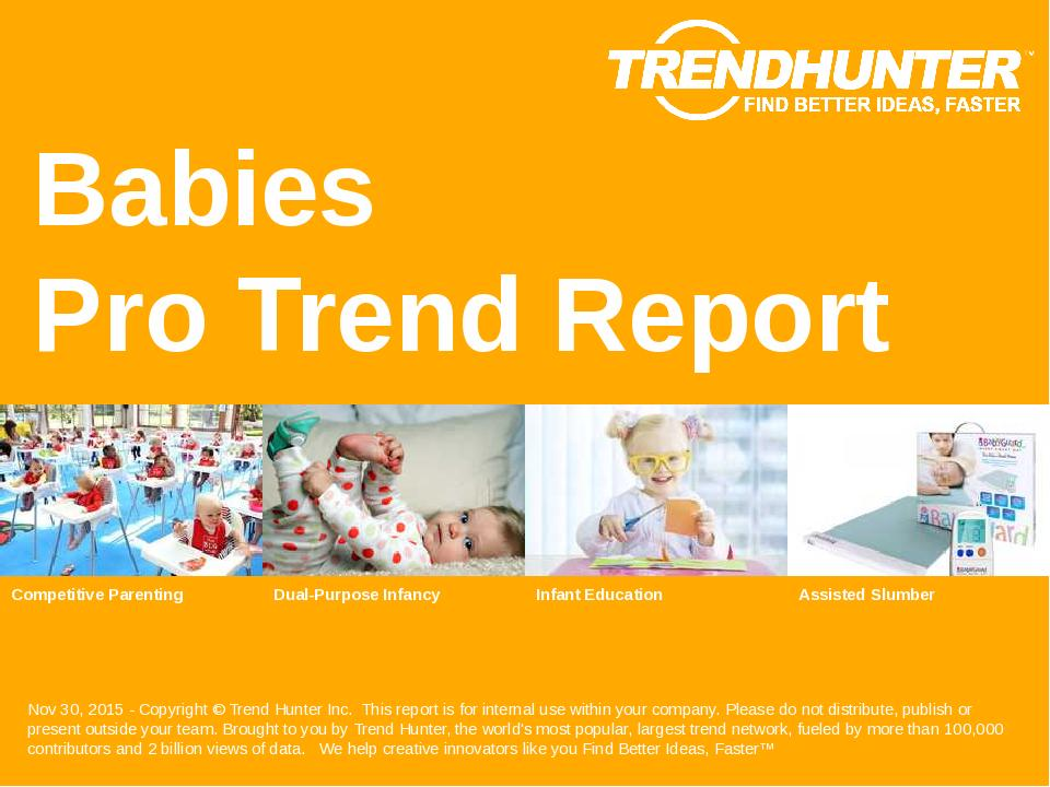 Babies Trend Report Research