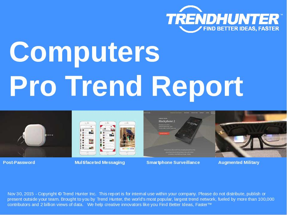 Computers Trend Report Research