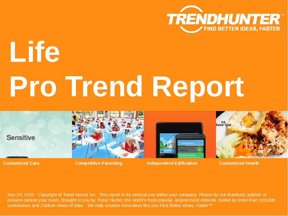 Life Trend Report Research