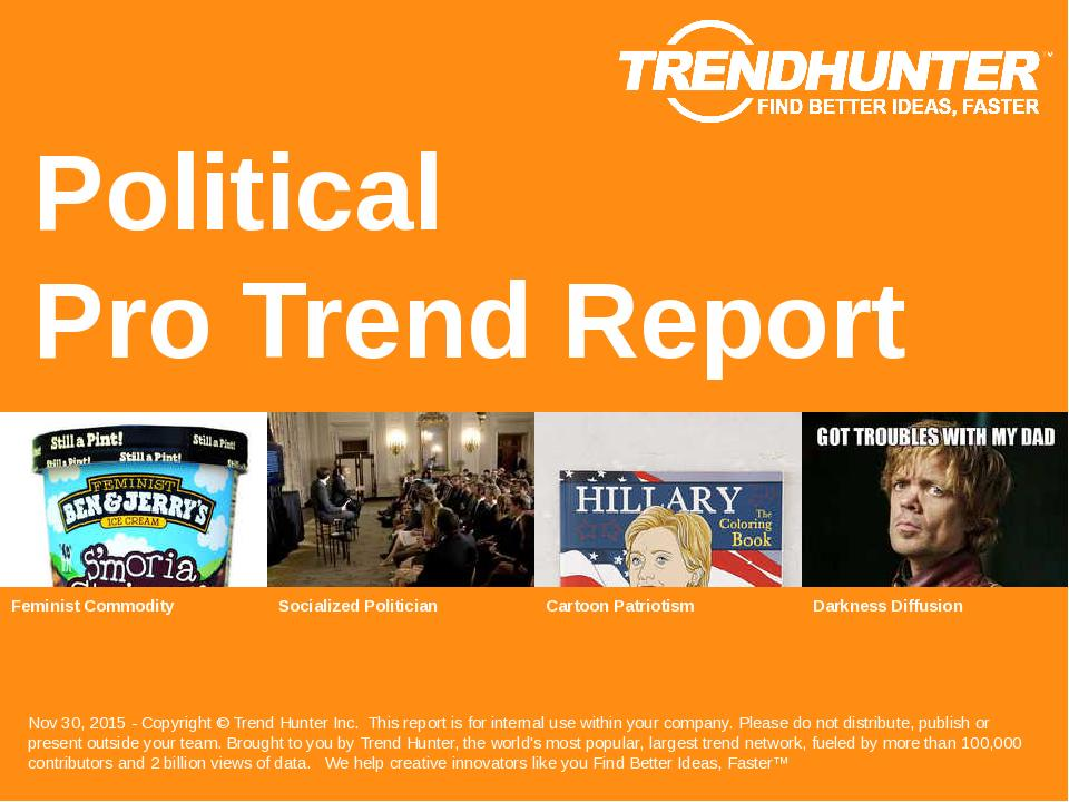 Political Trend Report Research