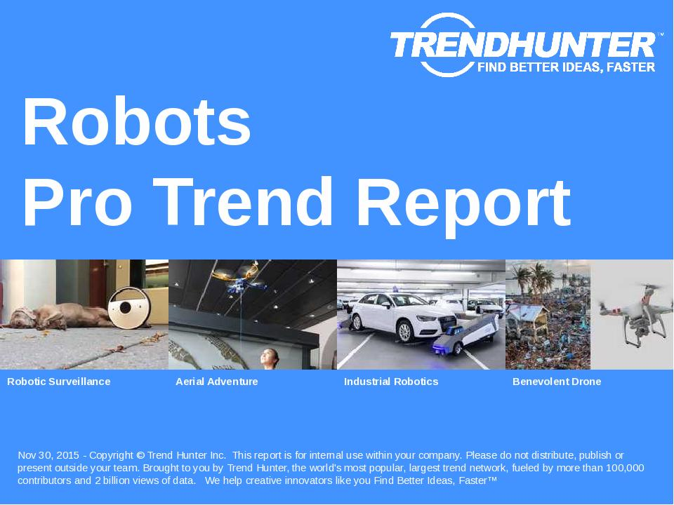 Robots Trend Report Research
