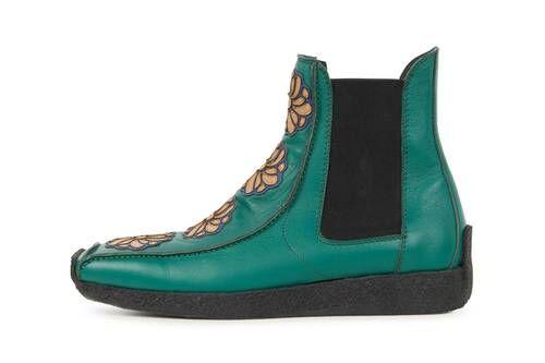 Renaissance-Themed Chelsea Boots