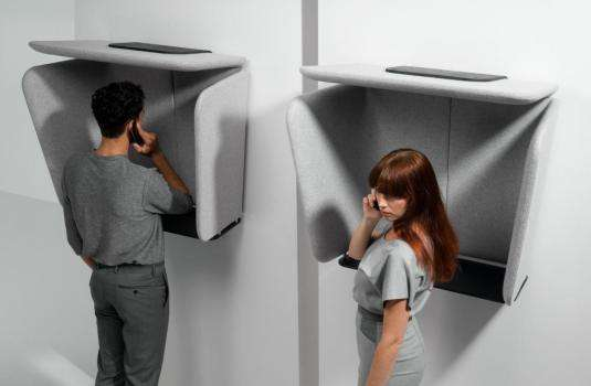 Upholstered Privacy Enclosures