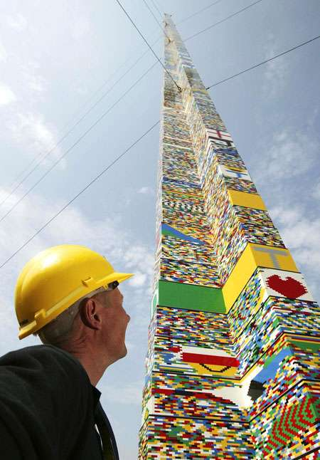 100 Foot LEGO Building