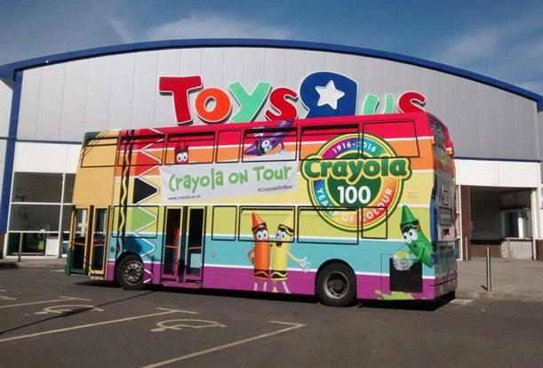 Celebratory Crayon Bus Tours