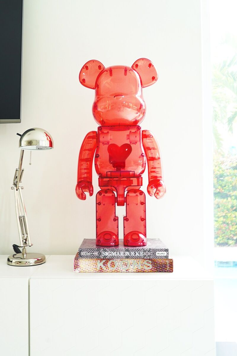Light-Up Bear Figurines