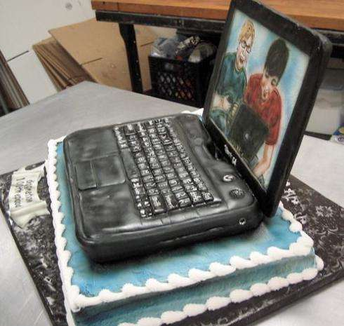 Edible Celebratory Laptops