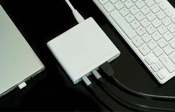 Laptop-Charging Connectivity Hubs