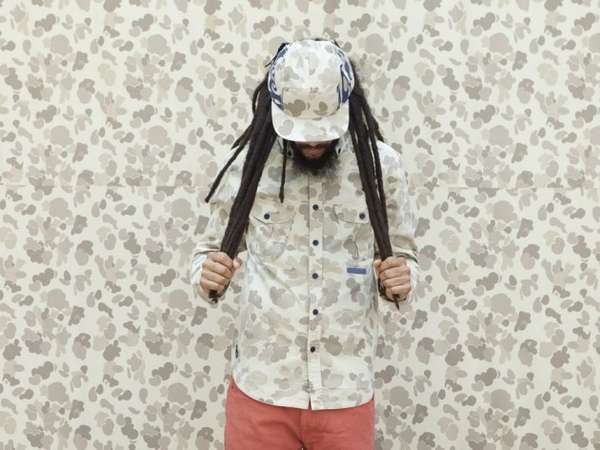 Rasta-Inspired Camouflage Campaigns
