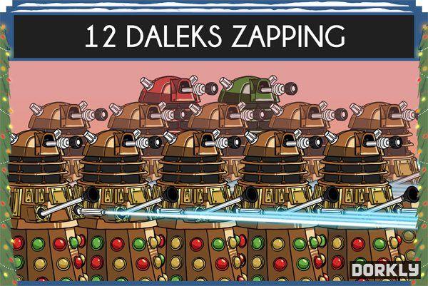 Sci-Fi Christmas Carols : 12 Days of Doctor Who