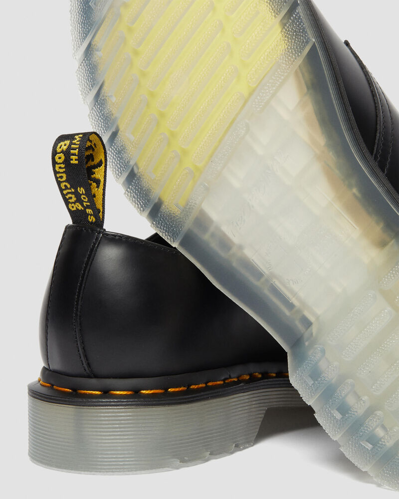Clear Outsole Rugged Boots