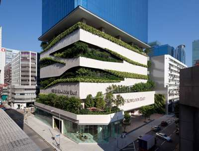 Zig-Zagging Green Buildings