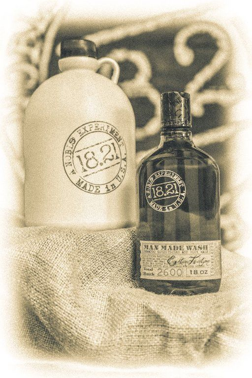 Prohibition-Inspired Care Products
