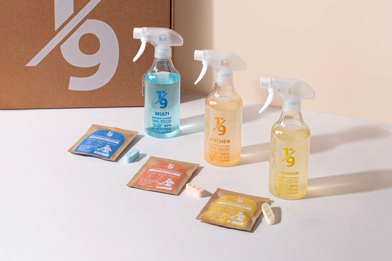 Concentrated Cleaning Product Tablets