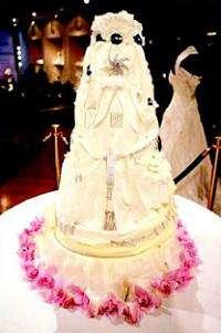 $20 Million Diamond Iced Wedding Cake