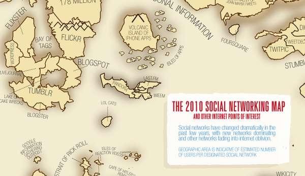 Internet Media Maps