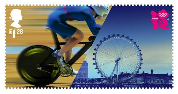 Athletic Landmark Postage