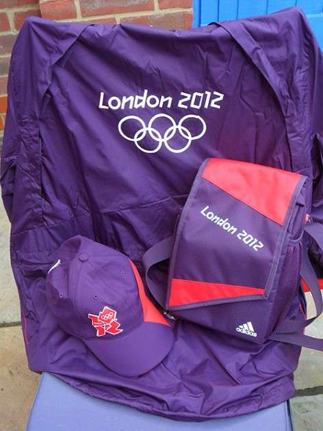 Free Olympic Volunteer Swag