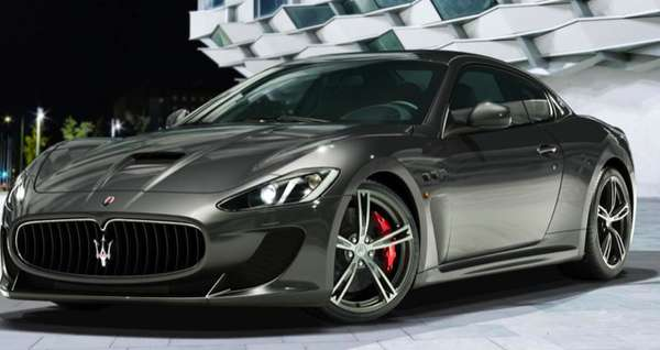 Aggressive Luxury Sports Cars : 2013 maserati granturismo mc stradale