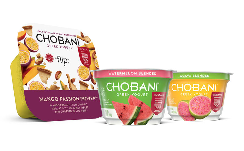 Olympics-Inspired Yogurt Flavors